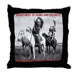 NDN Warriors Homeland Securit Throw Pillow