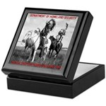 NDN Warriors Homeland Securit Keepsake Box