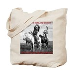 NDN Warriors Homeland Securit Tote Bag
