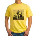 NDN Warriors Homeland Securit Yellow T-Shirt