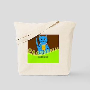 Pharmacist cat 2 Tote Bag