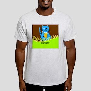 Pharmacist cat 2 Light T-Shirt
