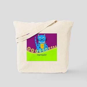 pharmacist cat 3 Tote Bag