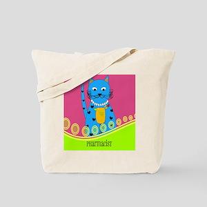 pharmacist cat 4 Tote Bag