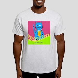 pharmacist cat 4 Light T-Shirt