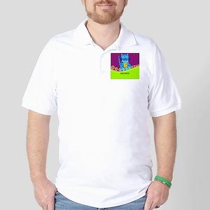 pharmacist cat 3 Golf Shirt