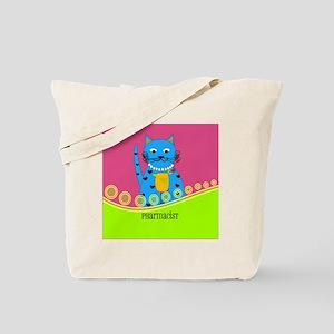pharmacist cat 1 Tote Bag