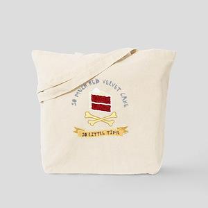 Red Velvet Cake Tote Bag