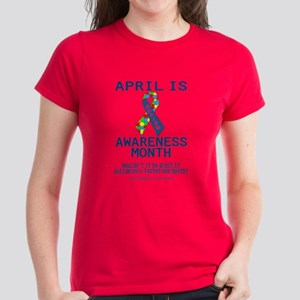 Autism Awareness (B) Women's Dark T-Shirt