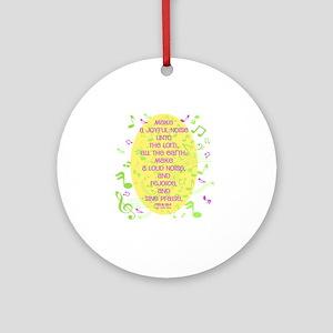 Psalm 98 4 Round Ornament