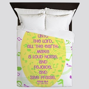 Psalm 98 4 Queen Duvet