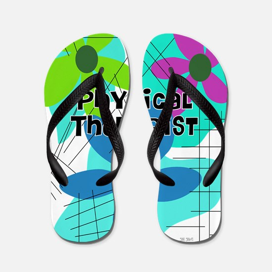 physical therapist 3 Flip Flops