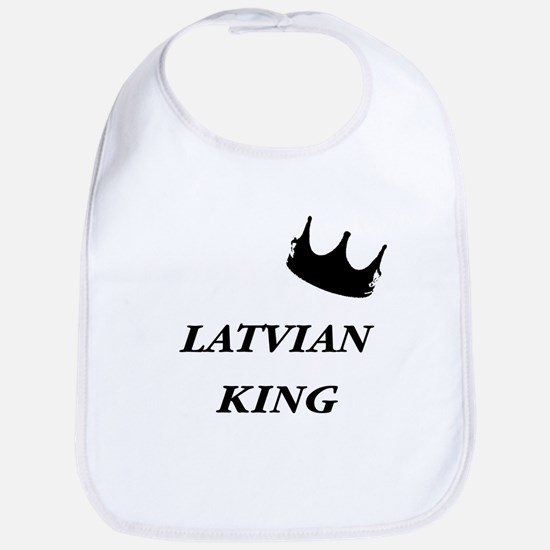 Latvian King Bib