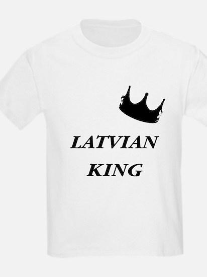 Latvian King T-Shirt