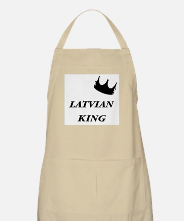 Latvian King BBQ Apron