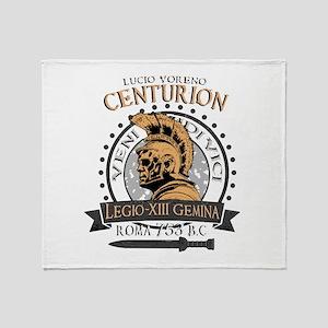 Lucio Voreno, the big Roman Centurio Throw Blanket