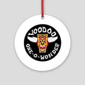F-101 Voodoo - One-O-Wonder Round Ornament