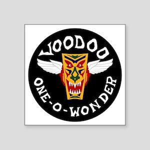 "F-101 Voodoo - One-O-Wonder Square Sticker 3"" x 3"""