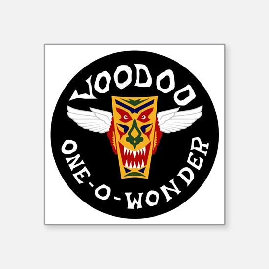 "F-101 Voodoo - One-O-Wonder Square Sticker 3"" x 3"""