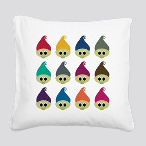 troll army copy Square Canvas Pillow