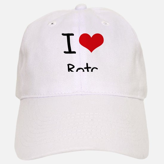 I Love Rotc Baseball Baseball Cap
