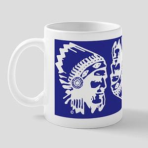 Blue Indian Head Dress Mug