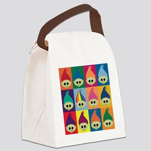 troll army rainbow leader Canvas Lunch Bag