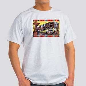 Wisconsin Dells Greetings (Front) Light T-Shirt