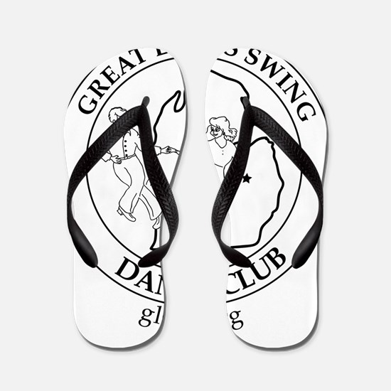 GLSDC Traditional Logo Flip Flops