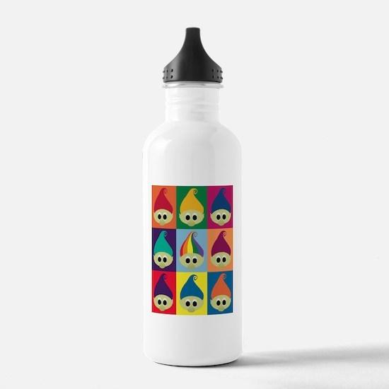 troll army 9x9 Water Bottle