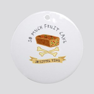 Fruit Cake Lover Ornament (Round)