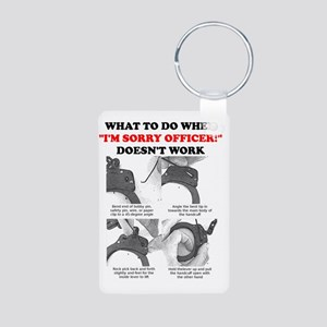 How To Escape From Handcuf Aluminum Photo Keychain
