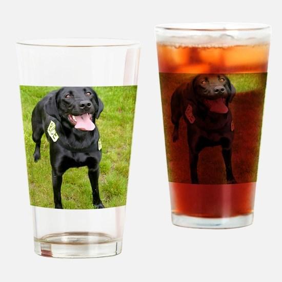 k9 Lexi Drinking Glass