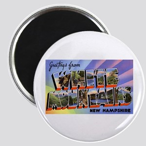White Mountains New Hampshire Magnet