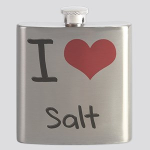 I Love Salt Flask