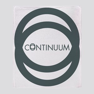 Continuum Double loops Throw Blanket