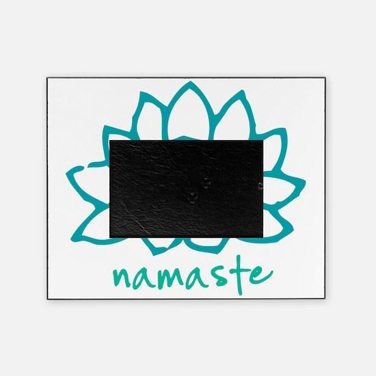 Namaste Lotus Picture Frame