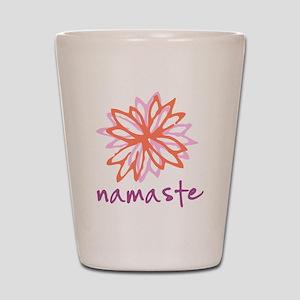 Namaste Flower Shot Glass