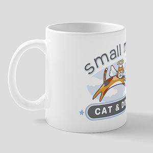 Small Miracles transparent background Mug