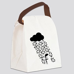 Cats and Dogs Canvas Lunch Bag