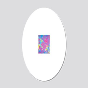 Studio OTB Painting 20x12 Oval Wall Decal