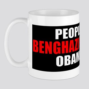 Beghazi - Obama Lied Mug
