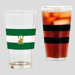 Andalucía-Dark Drinking Glass