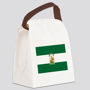 Andalucía-Dark Canvas Lunch Bag