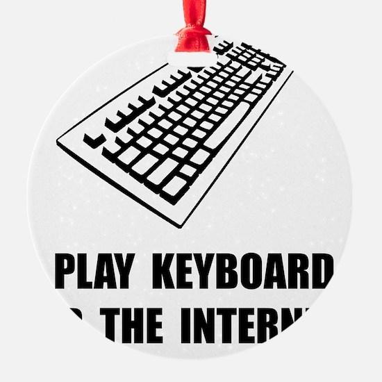 Keyboard Internet Ornament