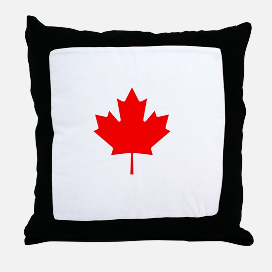 Canadians Eh Holes Throw Pillow