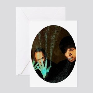 Sparks Two Hands One Mouth Greeting Card