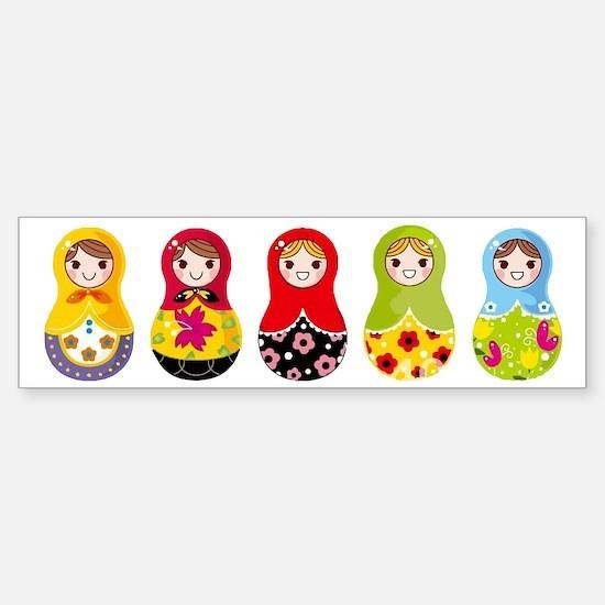 Matrioshka Sticker (Bumper)