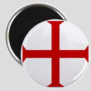 Knights Templar Cross Magnet