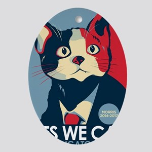 Candigato - Yes We Cat Oval Ornament